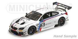 BMW  - M6 GT3 2017 white/black/blue/red - 1:43 - Minichamps - 437172635 - mc437172635 | The Diecast Company