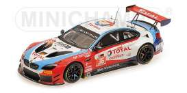 BMW  - M6 GT3 2017 red/white/blue - 1:43 - Minichamps - 437172636 - mc437172636 | The Diecast Company