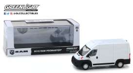 Ram  - ProMaster 2018 bright white - 1:43 - GreenLight - 86152 - gl86152 | The Diecast Company