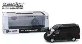 Ram  - ProMaster 2018 black - 1:43 - GreenLight - 86153 - gl86153 | The Diecast Company