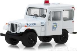Jeep  - DJ5 1977 white/blue - 1:64 - GreenLight - 42860B - gl42860B | The Diecast Company