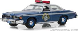 Pontiac  - LeMans 1977 blue/silver - 1:64 - GreenLight - 42860C - gl42860C | The Diecast Company