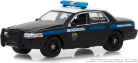 Ford  - Crown 2001 black/blue - 1:64 - GreenLight - 42860D - gl42860D | The Diecast Company