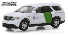 Dodge  - Durango 2018 white/green - 1:64 - GreenLight - 29994 - gl29994 | The Diecast Company