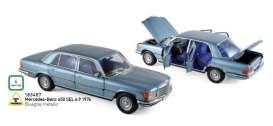 Mercedes Benz  - 450 SEL 6.9 1976 blue-grey metallic - 1:18 - Norev - 183457 - nor183457 | The Diecast Company