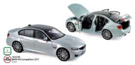 BMW  - M3 2017 silver - 1:18 - Norev - 183235 - nor183235 | The Diecast Company