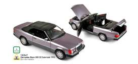 Mercedes Benz  - 300CE Cabriolet 1990 purple - 1:18 - Norev - 183567 - nor183567 | The Diecast Company
