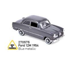 Ford  - 12M 1954 blue metallic - 1:43 - Norev - 270575 - nor270575 | The Diecast Company