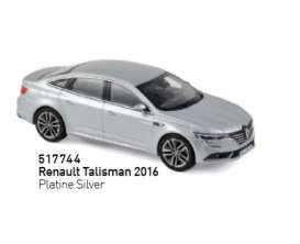 Renault  - Talisman 2016 silver - 1:43 - Norev - 517744 - nor517744 | The Diecast Company