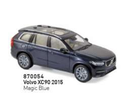 Volvo  - XC90 2016 blue - 1:43 - Norev - 870054 - nor870054 | The Diecast Company