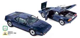 BMW  - M1 1980 blue - 1:18 - Norev - 183224 - nor183224 | The Diecast Company