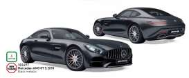 Mercedes Benz  - AMG GTS 2018 black - 1:18 - Norev - 183497 - nor183497 | The Diecast Company
