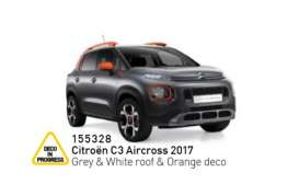 Citroen  - C3 Aircross 2017 grey/white/orange - 1:43 - Norev - 155328 - nor155328 | The Diecast Company