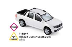 Renault  - Duster Oroch 2015 white - 1:43 - Norev - 511317 - nor511317 | The Diecast Company