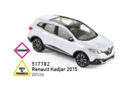 Renault  - Kadjar 2015 white - 1:43 - Norev - 517782 - nor517782 | The Diecast Company