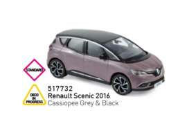 Renault  - Scenic 2015 grey/black - 1:43 - Norev - 517732 - nor517732 | The Diecast Company