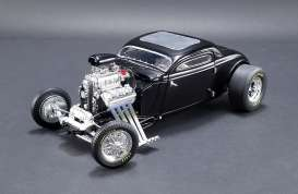 Ford  - Blown Altered Coupe 1934 black - 1:18 - GMP - 18900 - gmp18900 | The Diecast Company