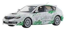Subaru  - Impreza WRX STI *Tein* 2006 white/green - 1:43 - J Collection - 29006TE - jc29006TE | The Diecast Company