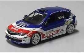 Subaru  - Impreza 2014 blue/white/red - 1:43 - J Collection - 29020RL - jc29020RL | The Diecast Company