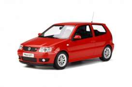 Volkswagen  - Polo GTi 2001 red - 1:18 - OttOmobile Miniatures - 270 - otto270 | The Diecast Company