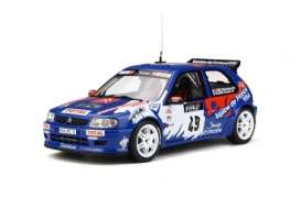 Citroen  - Saxo  1999 blue/white/red - 1:18 - OttOmobile Miniatures - 596 - otto596 | The Diecast Company