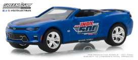 Chevrolet  - Camaro 2018 blue - 1:64 - GreenLight - 30004 - gl30004 | The Diecast Company