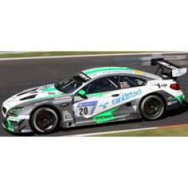 BMW  - M6 GT3 2017 white/green/silver - 1:43 - Spark - SG364 - spaSG364 | The Diecast Company