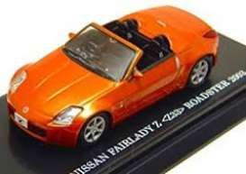 Nissan  - Fairlady Z 2003 orange - 1:64 - Kyosho - 6006P - kyo6006P | The Diecast Company