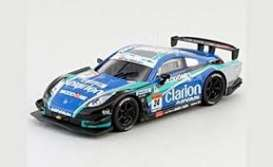 Nissan  - Clarion Z 2007 black/blue/green - 1:64 - Kyosho - 6581H - kyo6581H | The Diecast Company