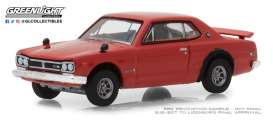 Nissan  - Skyline 2000 GTS-R 1972 red - 1:64 - GreenLight - 47020E - gl47020E | The Diecast Company