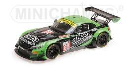 BMW  - Z4 GT3 2016 black/green - 1:18 - Minichamps - 151162388 - mc151162388 | The Diecast Company