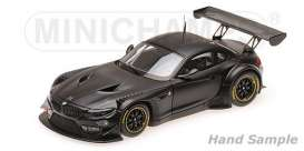 BMW  - Z4 GT3 black - 1:43 - Minichamps - 437172500 - mc437172500 | The Diecast Company