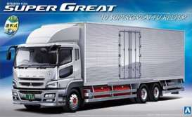 Mitsubishi  - Fuso Super Great FU 2010  - 1:32 - Aoshima - 10990 - abk10990 | The Diecast Company