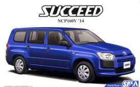 Toyota  - Succeed 2014  - 1:24 - Aoshima - 15143 - abk15144 | The Diecast Company