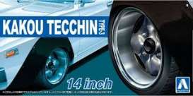 Wheels & tires Rims & tires - 1:24 - Aoshima - 15469 - abk15469 | The Diecast Company