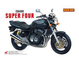 Honda  - CB400 Super Four  - 1:12 - Aoshima - 14215 - abk14215 | The Diecast Company