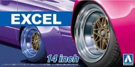 Wheels & tires Rims & tires - 1:24 - Aoshima - 15471 - abk15471 | The Diecast Company
