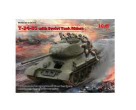 Military Vehicles  - T-34-85   - 1:35 - ICM - icm35369 | The Diecast Company