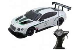 Bentley  - Continental GT3 white/black/green - 1:24 - Maisto - 81147 - mai81147 | The Diecast Company