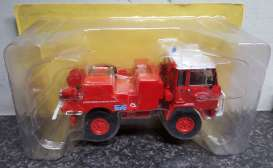 Iveco  - Unic 75PC red - 1:43 - Magazine Models - magfire43 | The Diecast Company