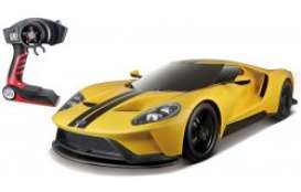 Ford  - GT yellow/black stripes - 1:6 - Maisto - 82134y - mai82134y | The Diecast Company