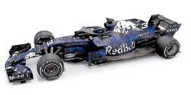 Red Bull Racing  Aston Martin - RB14 2018 blue/white - 1:18 - Minichamps - 110180993 - mc110180993 | The Diecast Company