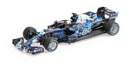 Red Bull Racing  Aston Martin - RB14 2018 blue/white - 1:43 - Minichamps - 410180993 - mc410180993 | The Diecast Company