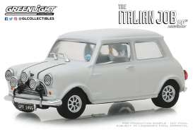 Austin  - Mini Cooper S 1967 white/black straps - 1:43 - GreenLight - 86551 - gl86551 | The Diecast Company
