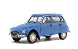 Citroen  - Dyane 1967 blue - 1:18 - Solido - 1800305 - soli1800305 | The Diecast Company