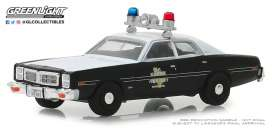 Dodge  - Monaco 1977 black - 1:64 - GreenLight - 42870B - gl42870B | The Diecast Company