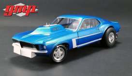 Mustang  - Gasser *the Boss* 1969 blue - 1:18 - GMP - GMP18913 - gmp18913 | The Diecast Company