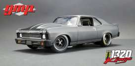 Chevrolet  - Nova 1969 grey - 1:18 - GMP - GMP18915 - gmp18915 | The Diecast Company