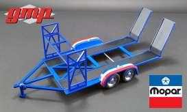 Trailer Mopar - Tandem Car Trailer  - 1:18 - GMP - GMP18916 - gmp18916 | The Diecast Company