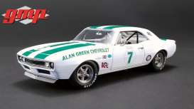 Chevrolet  - Camaro  1967 white/green - 1:18 - GMP - GMP18909 - gmp18909 | The Diecast Company